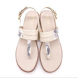 ♥️ NEW! COLE HAAN SANDAL W GOLD HARDWARE.